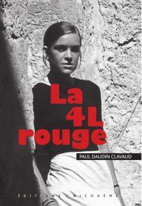 Page de couverture du roman La 4L Rouge, de Paul Daudin Clavaud