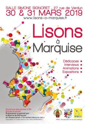 Affiche Salon Lisons à Marquise